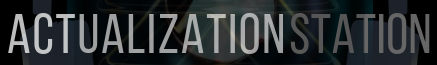 Logo for Actualization Station Podcast